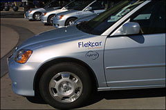 It's Not Another Rental Car, It's Flexcar