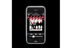 iPhone: Album Arty, Finger Scrolling, Up Sensor, Widescreen, Music/Video Thingy