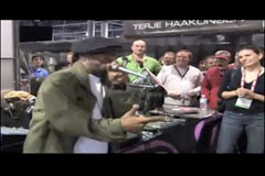 Supernatural, Freestyle Rap at Skullcandy, CES