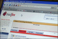 Demo of Trailfire shows new way to share find what's important on the Web