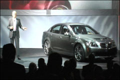 Pontiac's G8 Revealed