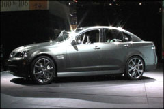 Introducing Pontiac's G8