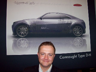 Connaught's Hybrid Sports Car
