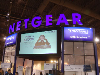 SMB Network Soutions with Netgear at INTEROP 2007