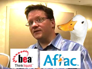 Geeking out with Aflac