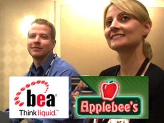 Talking restaurant-communication tech with Applebees' geeks