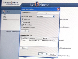 Demo: Net Nanny Provides Filters, Reports, Alerts
