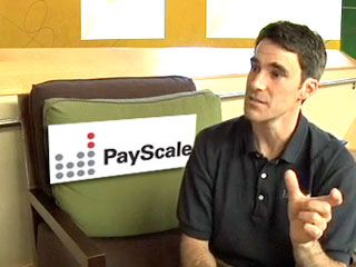 Comparing salaries with PayScale founder