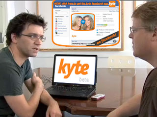 "Getting a look at ""New TV"" from Kyte.tv"