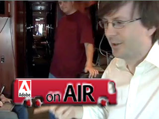 Classic Scoble : On AIR (bus) with Adobe