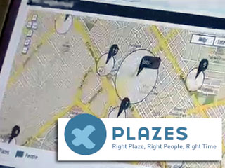 Classic Scoble : Demo of Plazes.com, mobile app to show where you are