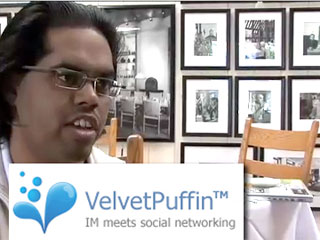 Talking about Velvet Puffin, IM in the Web (and out)