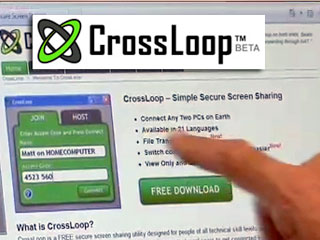 Help your friends and family with Crossloop