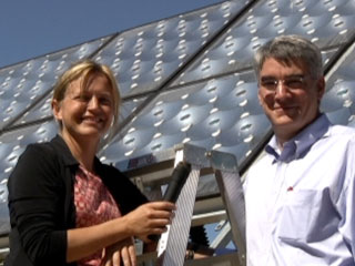 PARC and Solfocus's new, concentrated solar PV system