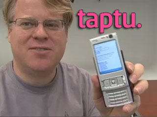 Demo of how Taptu is way better than Google for mobiles
