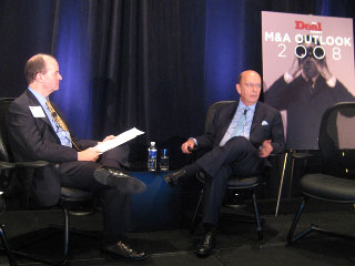 M&A Outlook 2008: Power Hitters Ross and Rubenstein
