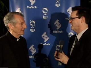 Father Paul Locatelli at the 2007 Tech Museum Awards