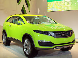 LA Auto Show: Kia Unveils the KND4