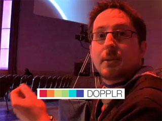 Meeting the brains behind Dopplr, online business traveler's service