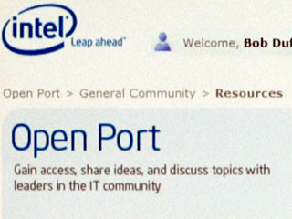 Intel Launches social media experience Open Port