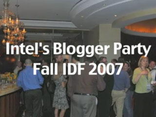 IDF Casual: Behind the Social Media at Intel's Blogging Event