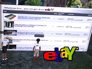 eBay Demo Expo: Second Life prototype