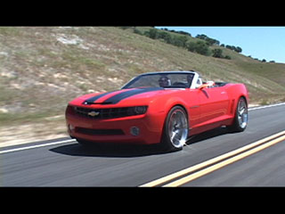 Driving the Camaro Convertible Concept