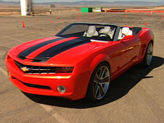 Driving the Camaro Convertible Concept, Part 2