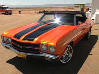 Driving the '70 Chevelle SS
