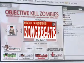 Playing games with Kongregate
