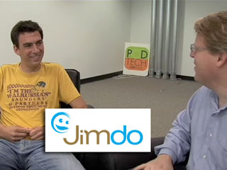 Talking about Web site creation with founder of JimDo