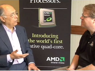 AMD CEO heralds Quad-Core CPU datacenter age