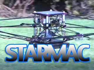 Meet the STARMAC robotic helicopter at Stanford