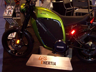 EVS 23: Brammo's Electric Motorcycle Enertia