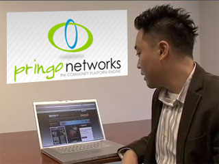 Demo of Pringo, your business social network