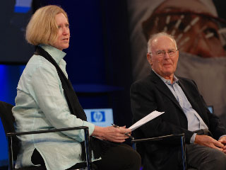 Fireside Chat with Gordon Moore, Live at IDF: Part I
