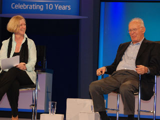 Fireside Chat with Gordon Moore, Live at IDF: Part 2
